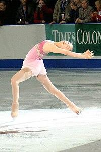Yu-Na Kim à Skate Canada 2006.