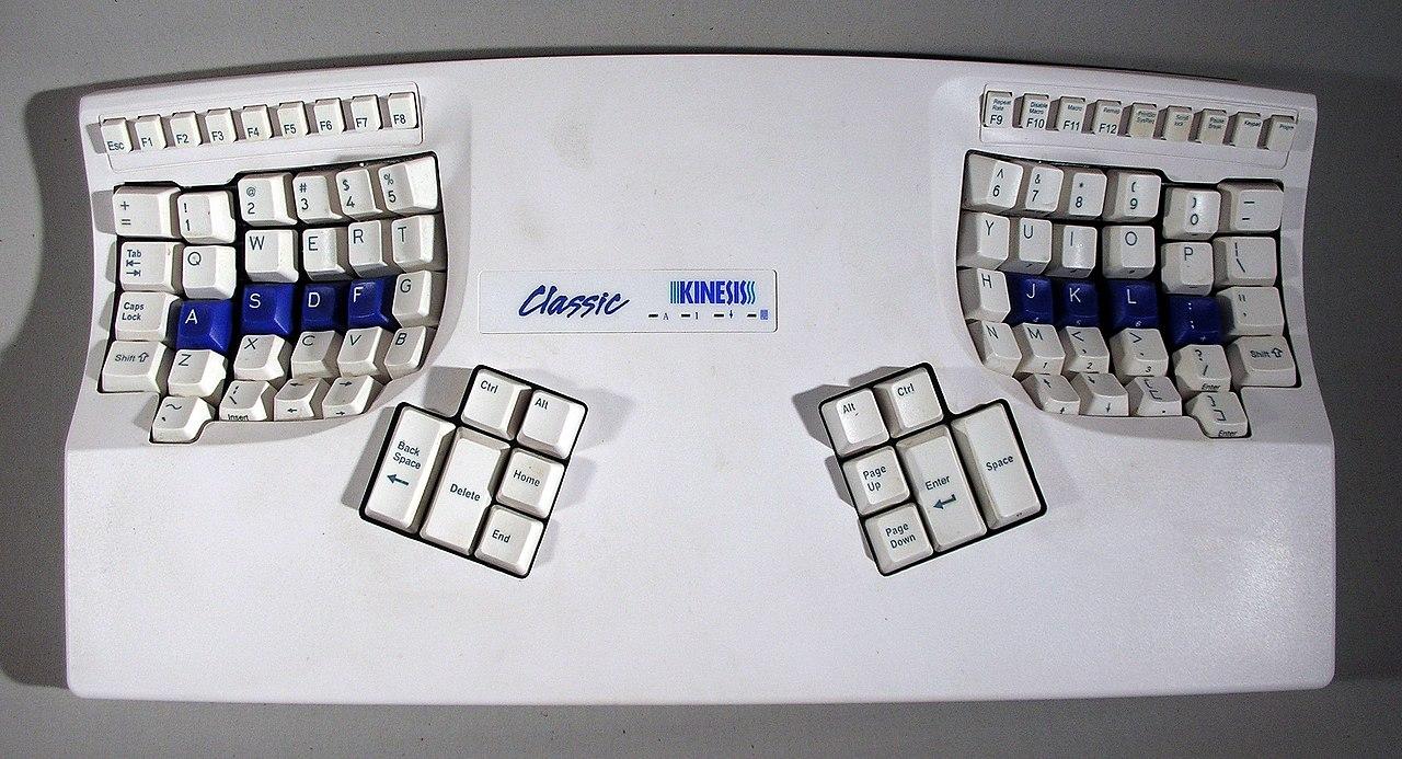 Kinesis ergonomic keyboard