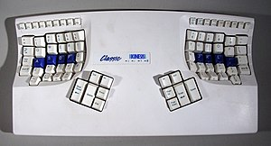 Touch typing - The Kinesis keyboard