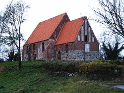 Church of Neuenkirchen on Rügen Island