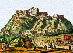 Thomas Manning (sinologist) - Potala Palace, Lhasa (Athanasius Kircher: China Illustrata, 1667) or Johann Grueber 1661 ?