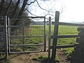 Kissing gate on The Sycamores - geograph.org.uk - 689182.jpg