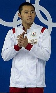 Kosuke Kitajima Japanese swimmer