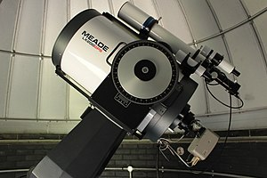 Bayfordbury Observatory - Image: Kitchin Telescope (11927718225)