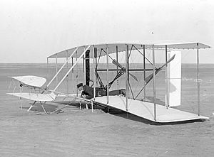 Canard (aeronautics) - The Wright Flyer of 1903 was a canard biplane