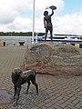 Klaipéda Skulptur Der Kindheitstraum 03.JPG