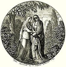 Titel-Vignette von Daniel Nikolaus Chodowiecki zur ungarischen Übersetzung von Klopstocks Messias, 1789 (Quelle: Wikimedia)