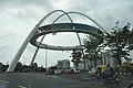 Kolkata Gate Under Construction - Rabindra Tirtha Crossing - Rajarhat - Kolkata 2017-06-21 2619.JPG