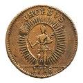 Kopparmynt motsvarande 1 daler silvermynt, s k nödmynt. Phoebus, 1718 - Skoklosters slott - 109191.tif