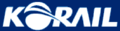 Korail logo-white on blue.png