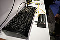 Korg MS-20M Kit + SQ-1 step sequencer - left angled view - 2015 NAMM Show.jpg