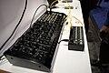 Korg MS-20M Kit + SQ-1 step sequencer - left angled view - 2015 NAMM Show.jpg