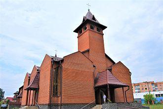 Kostopil - Catholic church in Kostopil