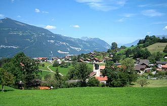 Krattigen - Image: Krattigen Dorf