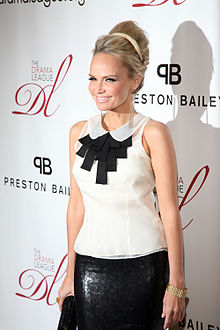 Chenoweth at the 2012 | Drama League Benefit Gala