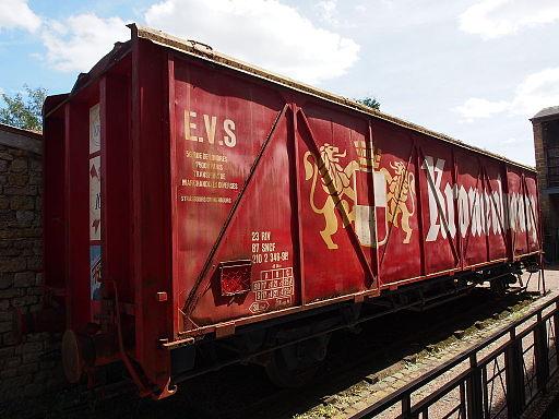 Kronenbourg train wagon