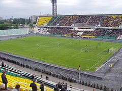 Kuban Stadium FC Kuban Krasnodar vs FC Rostov, Russian Premier League, Krasnodar, Russian 2005 Federation.jpg