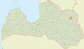 Kubulu pagasts LocMap.png