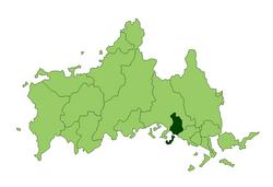 下松市位置圖