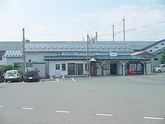 Kuriyagawa Station - Kuriyagawa Station, August 2007