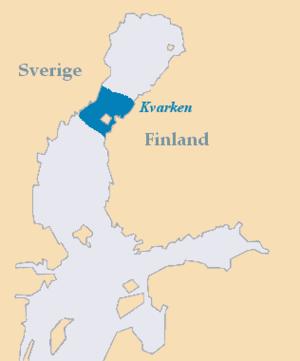 Kvarken - Kvarken, marine region between Sweden and Finland the Gulf of Bothnia