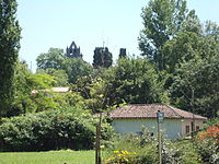 L'Isle-Arné (Gers, Fr) vue du village.JPG