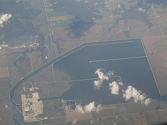 LaSalle County Nuclear Generating Station - LaSalle County Nuclear Generating Station as seen from the air.