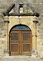 La Chapelle-Aubareil église portail.JPG