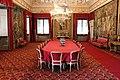 La petraia, sala da pranzo o sala rossa, view 01.JPG