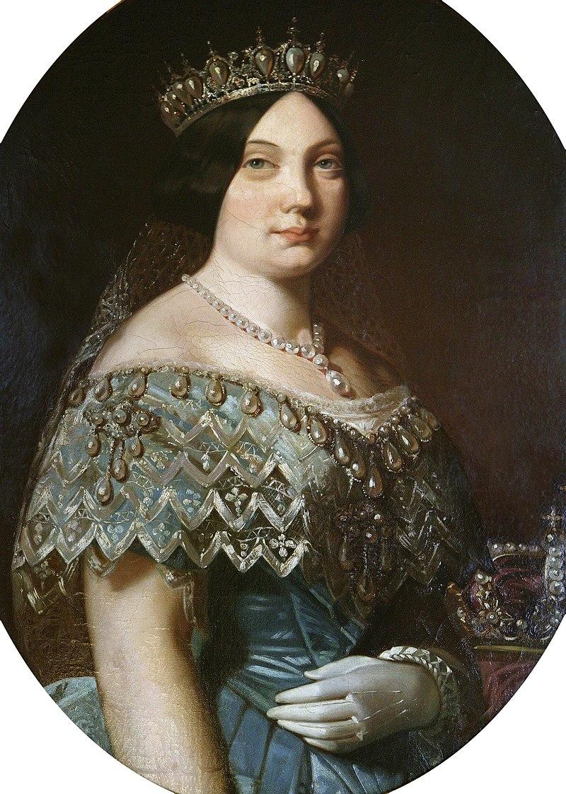La reina Isabel II de España (Museo del Prado).jpg