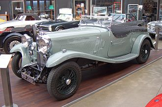 Lagonda - 4½-litre M45 sports tourer, 1934