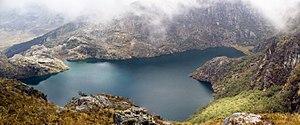 Sierra La Culata National Park - Image: Laguna Las Iglesias