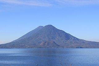 Volcán Tolimán mountain in Guatemala