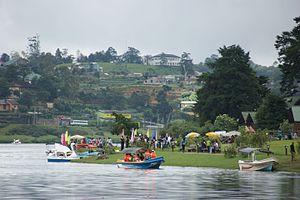 Lake Gregory (Nuwara Eliya) - Image: Lake Gregory 1