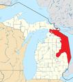 Lake Huron (Michigan highlighted).png