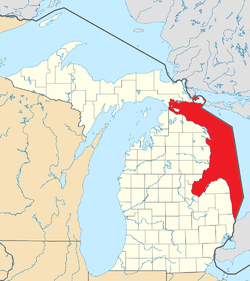 List Of Michigan Islands In Lake Huron Wikipedia