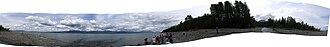 Lake Clark (Alaska) - Image: Lake clark panorama