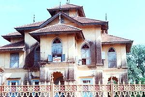 Dharampur, India - Lakshmi Temple a Classic Architectural Work in Dharampur Valsad Gujarat