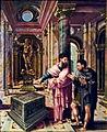 Lambert Lombard, Saint Denis l'aéropagite rencontre saint Paul, 1533 (BAL, Liège).jpg