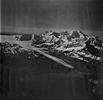 Lamplugh Glacier, tidewater glacier and icefield in the background, September 12, 1973 (GLACIERS 5583).jpg