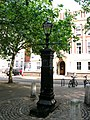 Lamppost, Queen Square WC1 - geograph.org.uk - 1307538.jpg