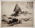 Lan Ying, paesaggi nello stile degli antichi maestri gao shangshu, dong yuan, ju ran e mi fu, dinastia ming, 1642.jpg