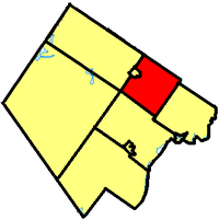 Beckwith within Lanark County.
