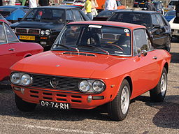 Lancia Fulvia Coupe Rallye 1.6 HF 2nd Series dutch licence registration 09-74-RH pic1