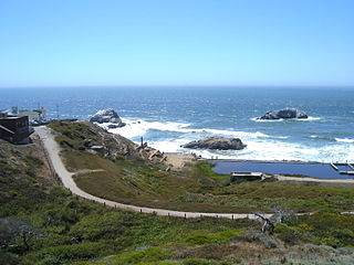 Lands End (San Francisco) Park in San Francisco within the Golden Gate National Recreation