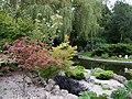 Landscaped gardens at Eltham Crematorium, Falconwood - geograph.org.uk - 986183.jpg
