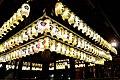 Lanterns at Yasaka Jinja - panoramio.jpg