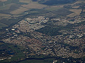 Larbert and Stenhousemuir from the air (geograph 5229642).jpg
