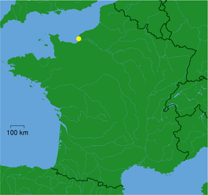 Valleuse - Location within France