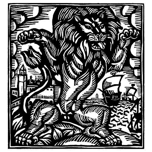 Le Lion (Apollinaire - Le Bestiaire ou Cortège d'Orphée).jpg